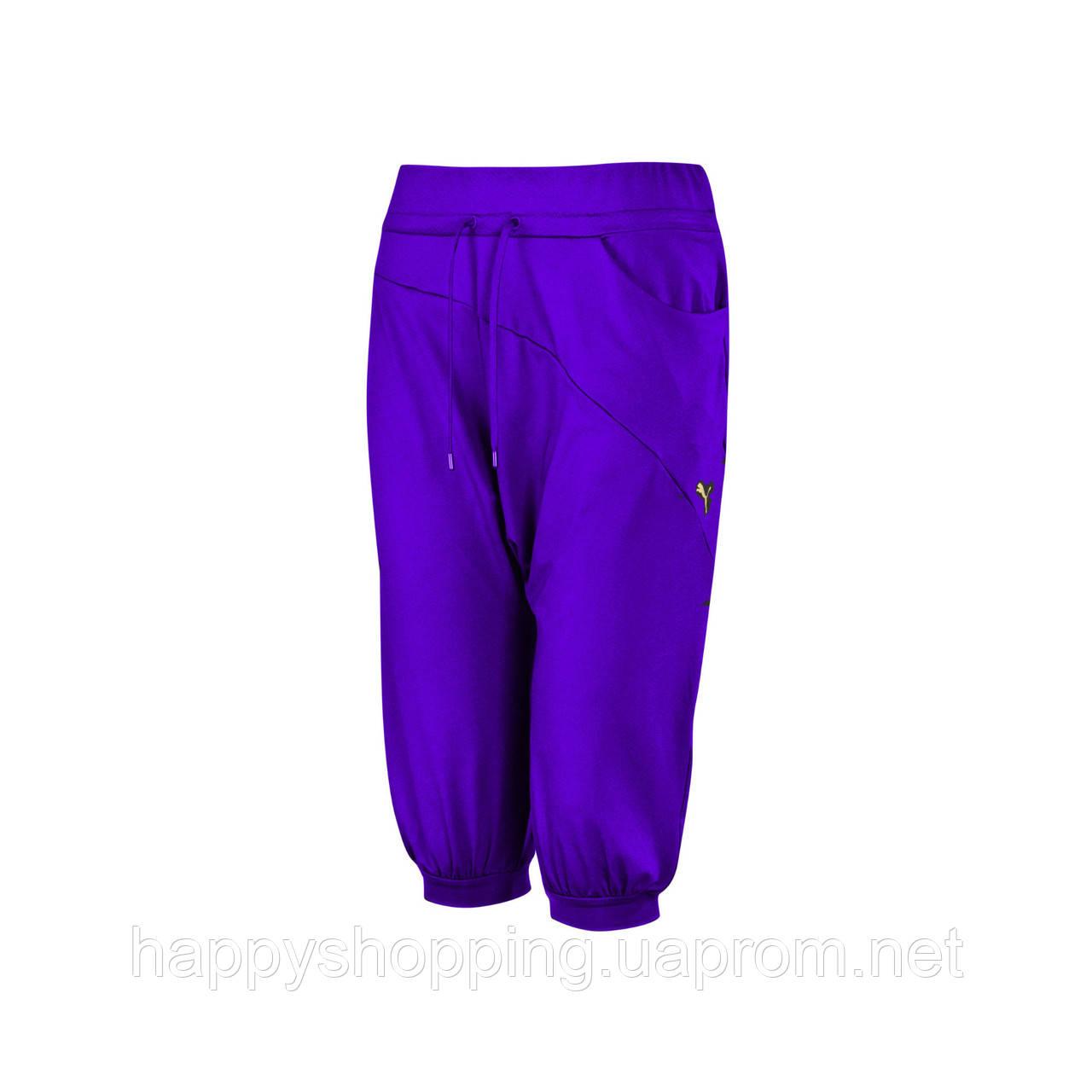 Фиолетовые бриджи Puma