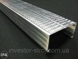 Профиль CW-75 3 м. сталь (0.50 мм.) утолщенный, фото 1