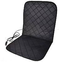 Накидка на сиденье с подогревом  Elegant Plus 84х43см черная EL 100 579