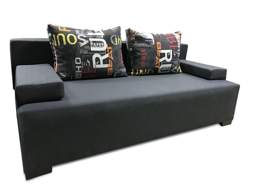 Прямой диван Green Line Атлас 200 см Серый