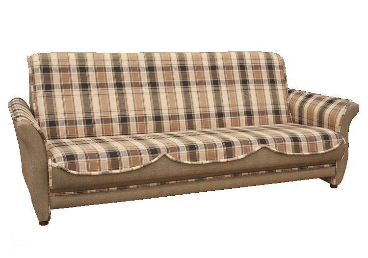 Прямой диван Luxor Радость Коричневый
