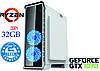 Игровой компьютер NG Ryzen 5 1600 G3 (Ryzen 5 1600 /DDR4 - 32Gb/SSD-240Gb/HDD-1Tb/GTX1070)
