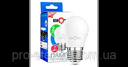 Светодиодная лампа BIOM smd BT-564 7W, G45, E27 Белый