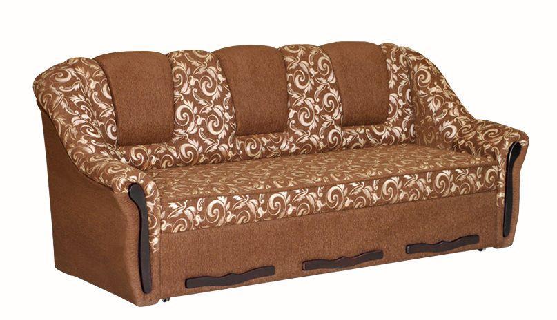 Прямой диван Sky Soft Полермо 226 см Коричневый