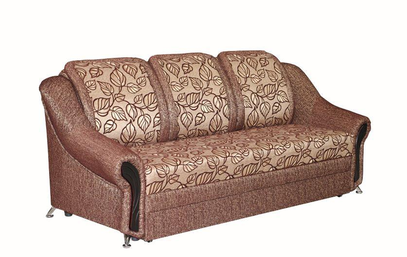 Прямой диван Sky Soft Беатрис 226 см Коричневый