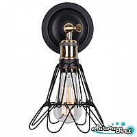 Бра настенная AuroraSvet loft 10500 чёрная.LED светильник бра. Светодиодный светильник бра.