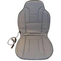 Накидка на сиденье с подогревом Elegant Plus 100х50см серая EL 100 577
