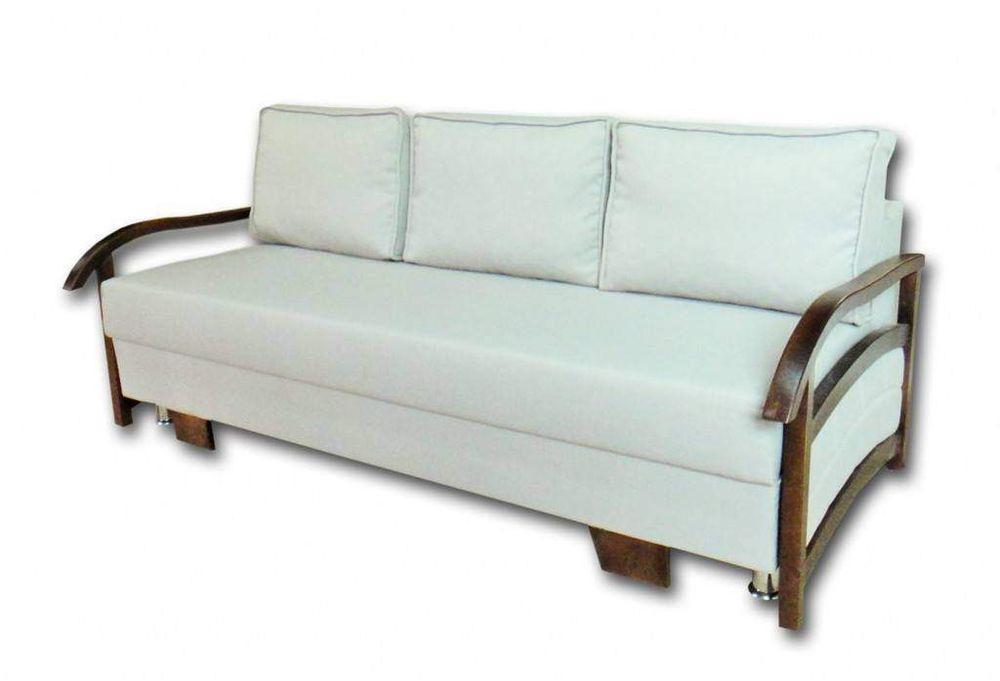Прямой диван Данко Наполеон Белый