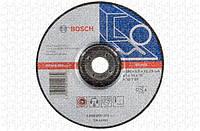 Круг зачистной Bosch Expert for Metal 180×6 мм, выпуклый - 10 шт.