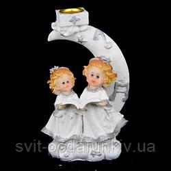 Ангелочки статуэтка подсвечник S5016