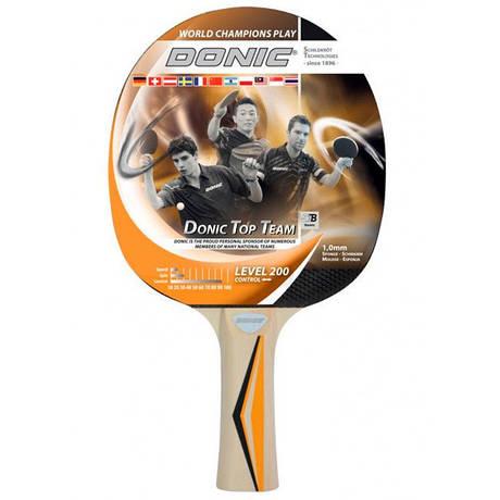 Ракетка для настільного тенісу 1 штука Donic Top Teams 200 705021 гума 1мм