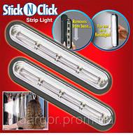 Встраиваемые светильники Stick'n'Click