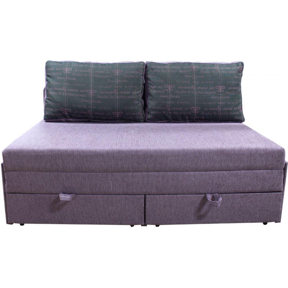 Прямий диван Ribeka Омега 160 см 20M01 Бузковий