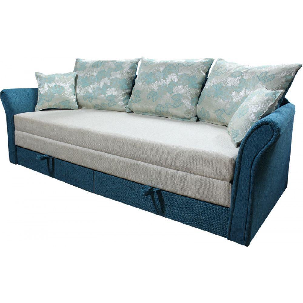 Прямой диван Ribeka Стелла 200 см 11D20 Бирюзовый