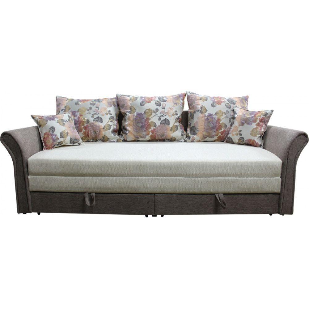 Прямий диван Ribeka Стелла 200 см 11D21 Коричневий
