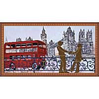 """Набор для вышивки бисером 54х30см (с чешским бисером) """"Лондонские сюжеты"""""""