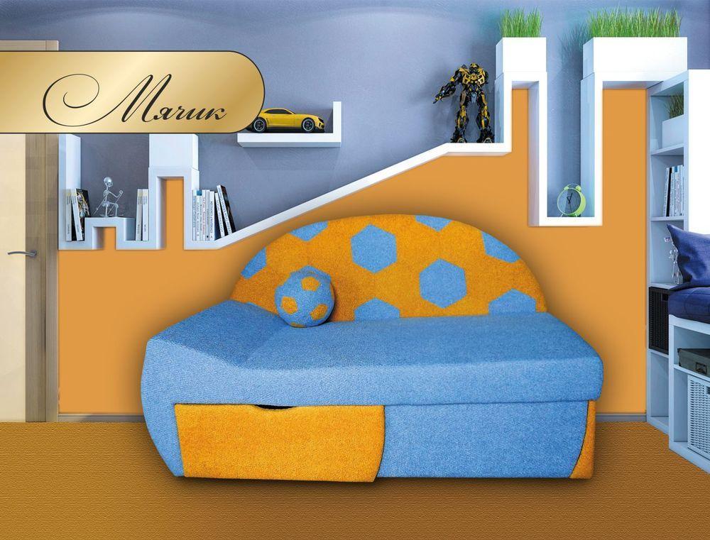 Прямой диван МКС Мячик Голубой