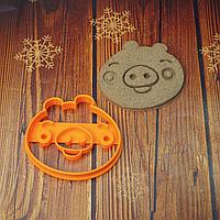 Свинка angry birds  - Форма для печива і пряників