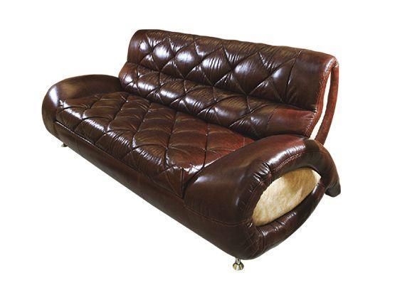 Прямой диван Далио Шанхай Коричневый