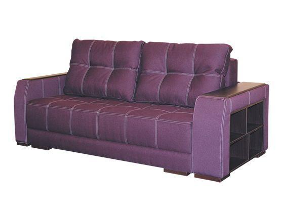 Прямой диван Далио Филадельфия Фиолетовый