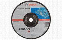 Круг зачистной Bosch Standard for Metal 230×6 мм, выпуклый - 10 шт.
