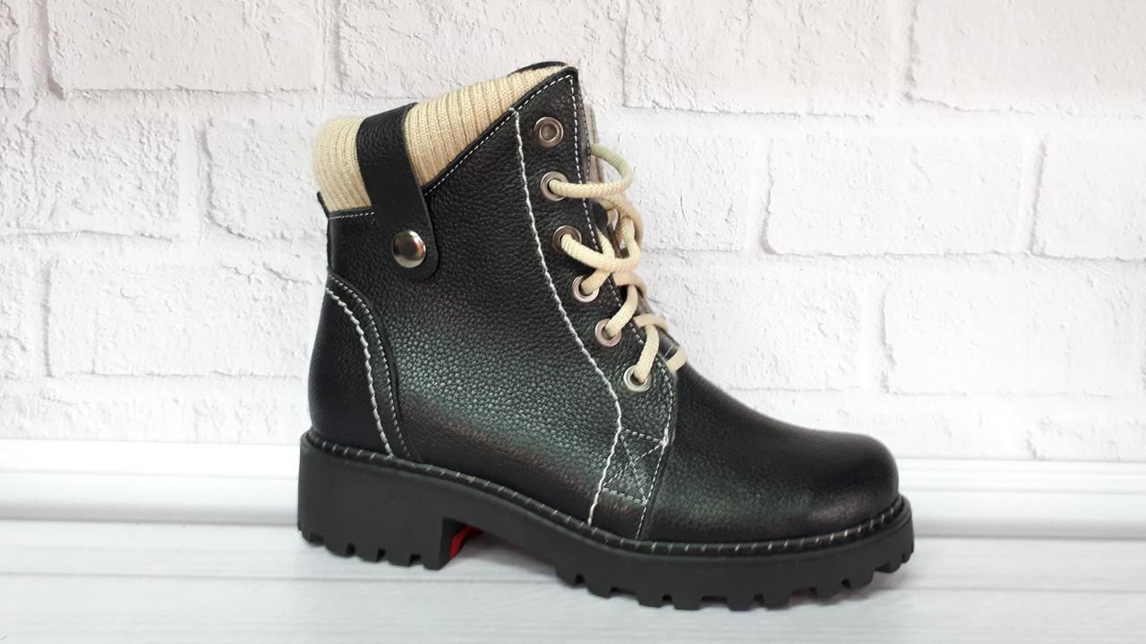 165affacb Женские кожаные зимние ботинки. Украина - Интернет-магазин