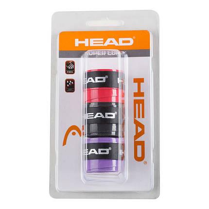 Обмотка Head SuperComp, 3шт в упакуванні, блістер, фото 2