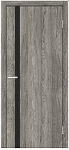 Двери межкомнатные СИТИ Черное ЧС NL Зеркало, фото 3
