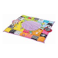Развивающий музыкальный коврик с дугами - В кругу друзей (90х90 см) Taf Toys 11955