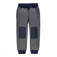 374c6790f63 Утепленные Спортивные Штаны Для Мальчиков Подростков С Модными Синими  Заплатками На Коленях Brums Италия