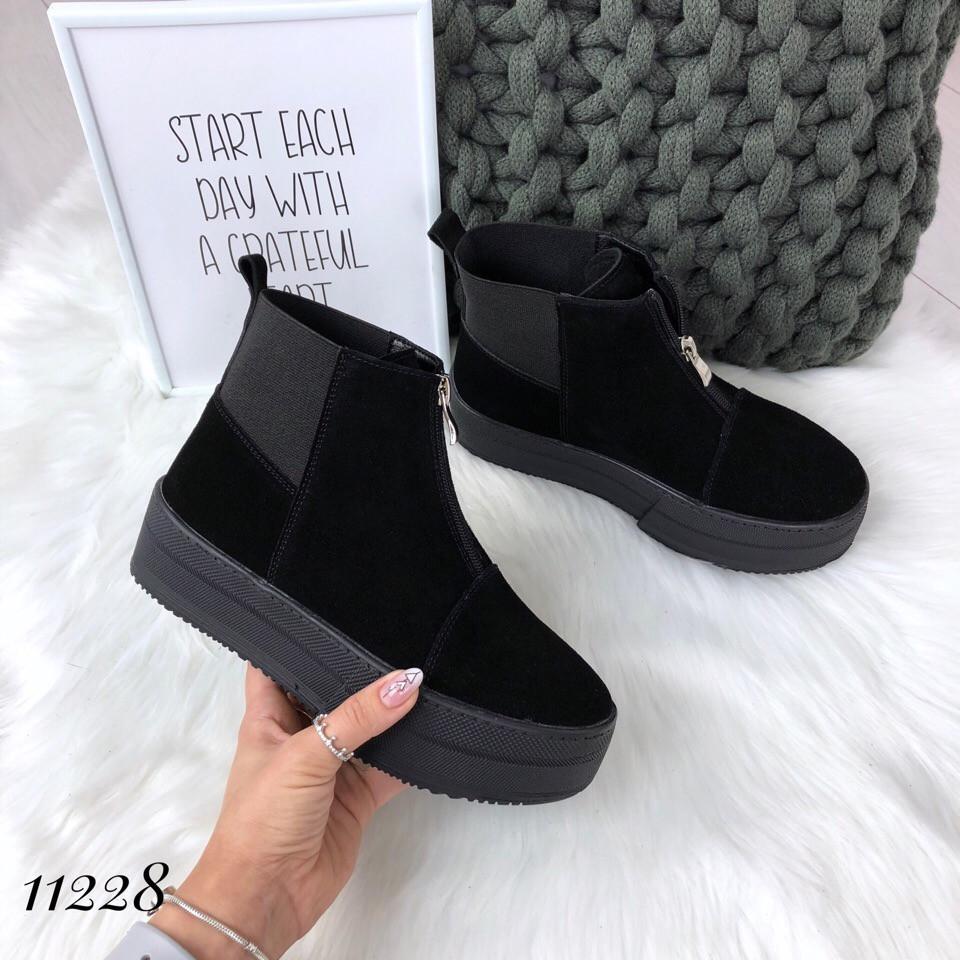 af6a57118 Замшевые женские ботинки на платформе! Украина - Интернет-магазин