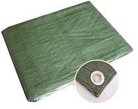 Тент Тарпаулин  90 г/м2 зеленый