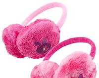 Меховые наушники для девочек Furby