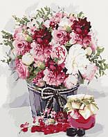 Картины по номерам нежный букет 40 х 50 см. , фото 1