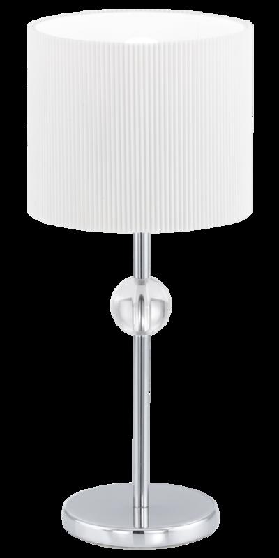 Настольная лампа EGLO 92819 Albaredo 1х42Вт Е27 белый/хром