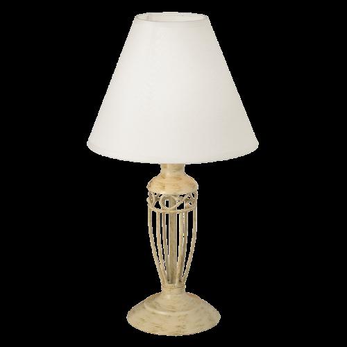 Настольная лампа EGLO 83141 Antica 1х60Вт Е14 бежевый/слоновая кость