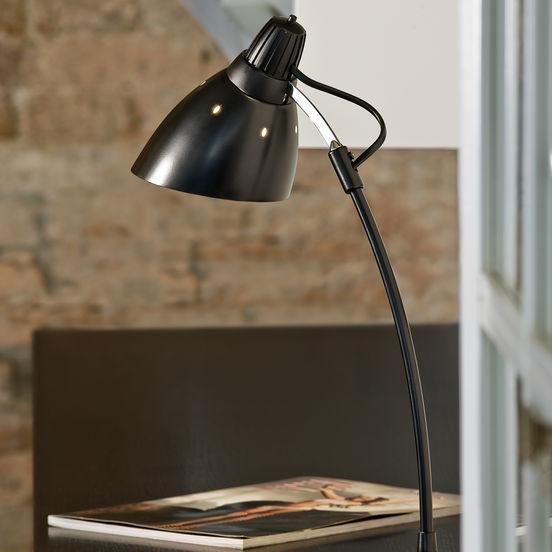 Настольная лампа EGLO Top Desk 7059 60Вт Е27 черный