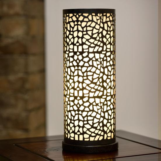 Настольная лампа EGLO Almera 89116 60Вт Е27 коричн.антик/шампань