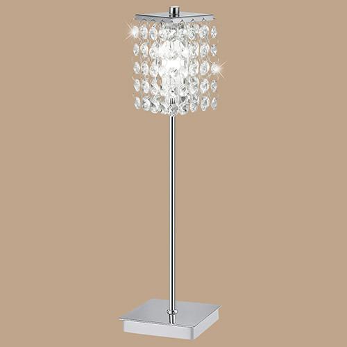 Настольная лампа 85333 EGLO Pyton 1х40Вт G9 хрусталь/хром.
