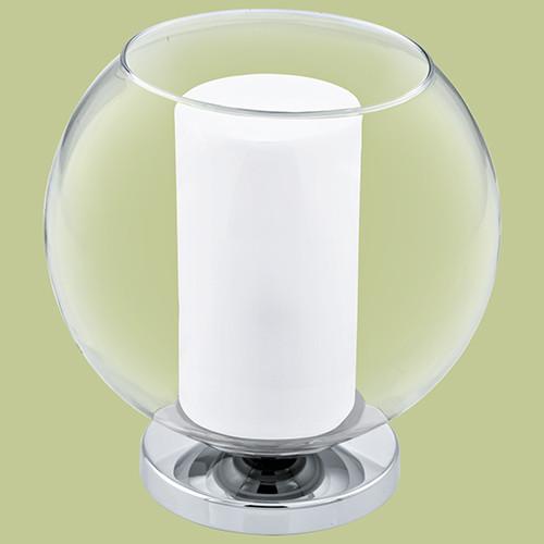 Настольная лампа EGLO Bolsano 92763 1х60Вт E27 белый/хром