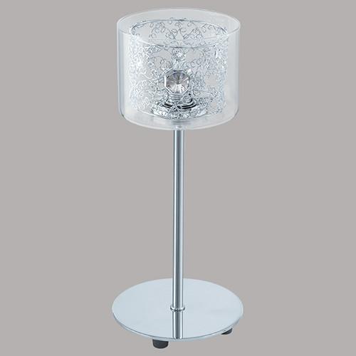 Настольная лампа EGLO Pianella 91736 1х40Вт G9 прозрачный/хром