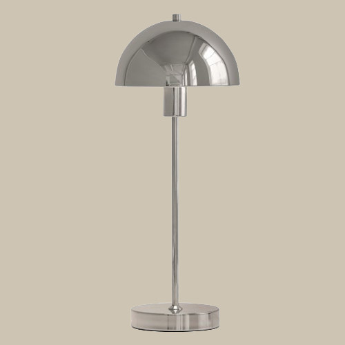 Настольная лампа Herstal Vienda 1х11Вт E14 хром/металл