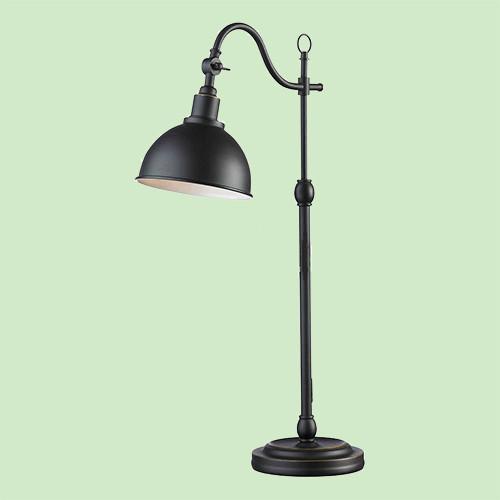 Настольная лампа Markslojd  Ekelund 104345 1х40Вт E27 черный/металл