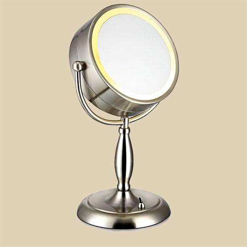 Настольная лампа Markslojd Face 105237 1х25Вт E14 никель/металл