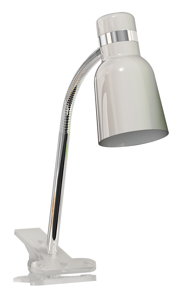 Настольная лампа Rabalux Color 4292 1х40Вт E14 серебро/металл