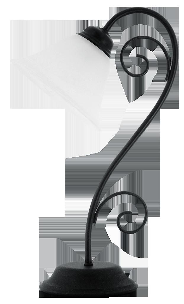 Настольная лампа Rabalux Athen 7812 1х40Вт E14 белый/металл