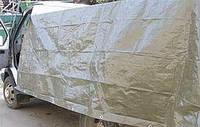 Тент Тарпаулин  100 г/м2 зеленый 6х10 м.