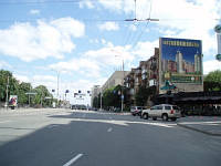 Брэндмауэр 12.55x11.6, г. Киев, б-р Л.Украинки, 30(стенка11,6х12,55)