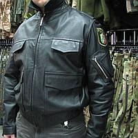 Куртка кожаная полицейская, Германия., фото 1