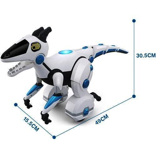 Динозавр робот на радиоупаравлении 28308 аккумулятор 53 см английский